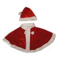 Комплект Снігуроньки Червоний колір (Болеро+Шапочка)
