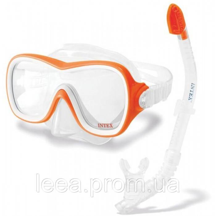 Набор для плавания Intex 55647 от 8 лет трубка и очки