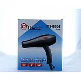 Профессиональный фен Domotec MS-0804 2000W, сушка для волос, сушилка, фото 2