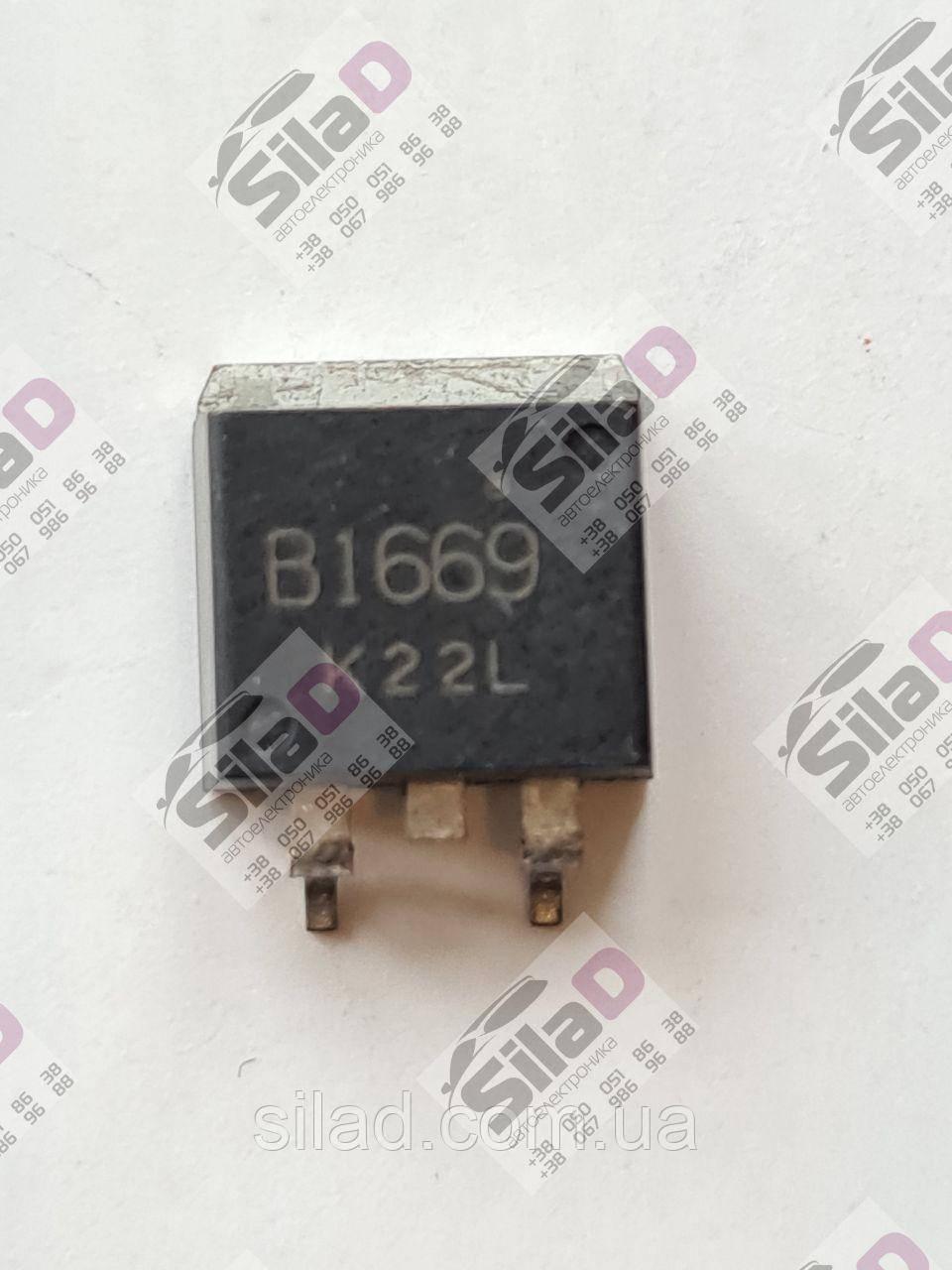 Транзистор 2SB1669, B1669 NEC корпус D²PAK, TO-263