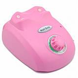 Профессиональный фрезер Glazing Machine Nail Master 208 Розовый, фото 2