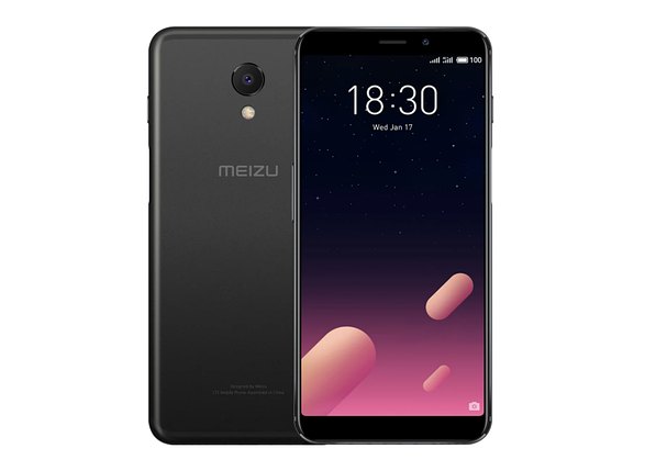 Смартфон Meizu M6s 32 Gb Black Stock B-, фото 2