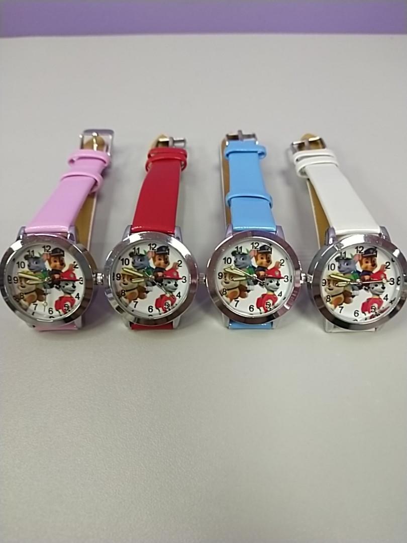 Детские наручные часы для для детей с рисунком щенячий патруль