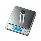 Ювелирные электронные весы с 2-мя чашами Domotec 0.01-500 грамм, фото 5