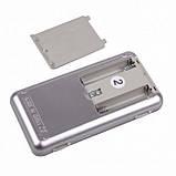 Карманные ювелирные электронные весы до 500 грамм, фото 6