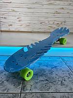 Скейт, PU колеса, размер 70*20 см , Fish Skateboard, SL-F04, фото 1