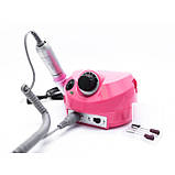 Фрезер для маникюра и педикюра Nail Drill DM-202 35000 оборотов 30 Вт Розовый, фото 4