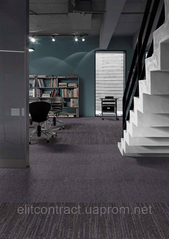 Modulyss Base Lines ковровая плитка