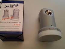 Конвертор Satcom Single Universal LNB S-104