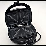 Гриль, бутербродница, вафельница, орешница Мультимейкер Domotec MS-7704, 1000Вт, фото 2