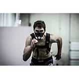 Маска для бега тренировок тренировочная дыхания спорта Elevation Training Mask S, фото 6