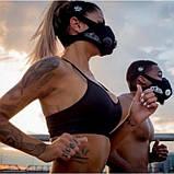 Маска для бега тренировок тренировочная дыхания спорта Elevation Training Mask S, фото 7