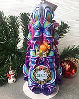 Новорічна свічка форми ялинки. Красиво блищить - красива на подарунок