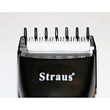 Машинка для стрижки волос с триммером Straus professional ST-101, фото 6