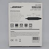 Беспроводные Вluetooth стерео наушники BOSE MS 999 с разъемом micro SD Чёрные, фото 2