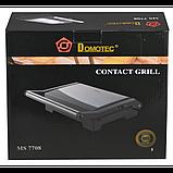 Контактный гриль Domotec MS 7708 (1000В), фото 4