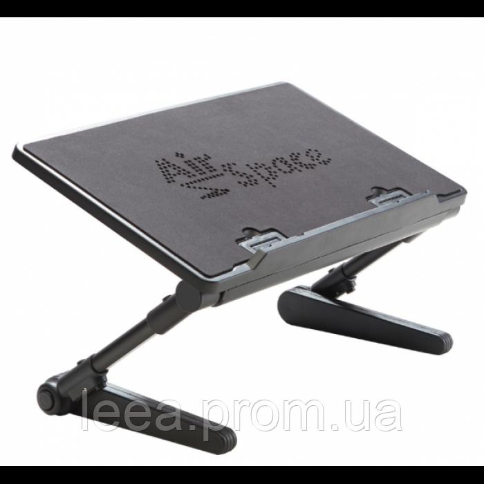 Регулируемая Подставка для ноутбука кулер столик с охлаждением AIR SPACE