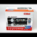 Автомагнитола 2035BT Bluetooth+USB+SD+AUX 4x60W, фото 6