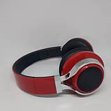 Беспроводные Bluetooth Наушники 39S FM радио Красные, фото 4