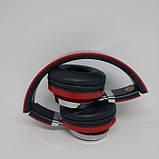 Беспроводные Bluetooth Наушники 39S FM радио Красные, фото 5