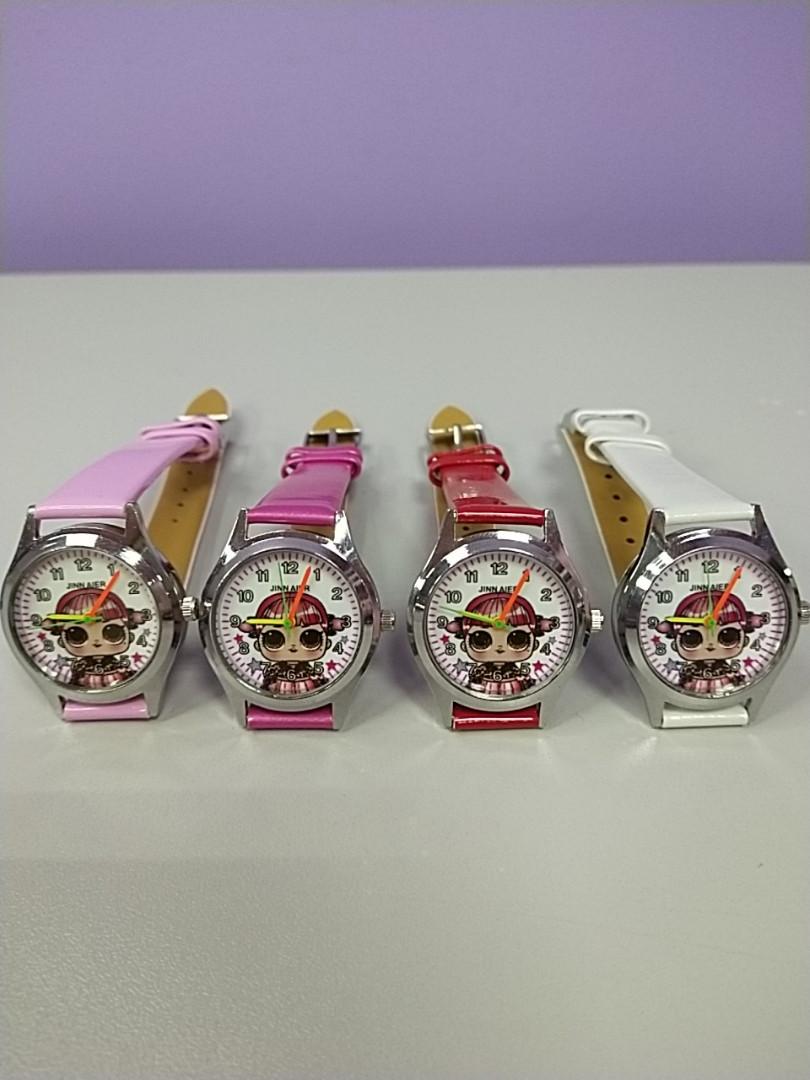 Детские наручные часы для девочки с рисунком кукла лол