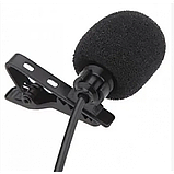 Микрофон-петличка Media Microphone DM M1 Чёрный, фото 3