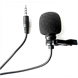 Микрофон-петличка Media Microphone DM M1 Чёрный, фото 4