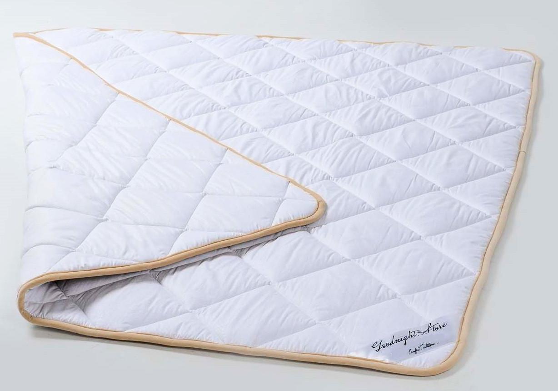 Одеяло теплое шерстяное из шерсти мериносов Ultra Lite Белое классическое 240х200