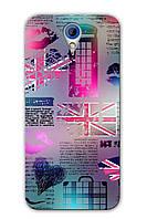 Чехол  для HTC Desire 620 (Британия)