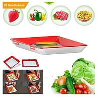 Многоразовый вакуумный лоток для хранение пищевых продуктов Clever Tray