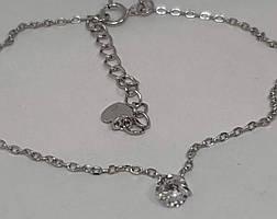 Срібний браслет з фіанітами. Артикул 1434713 16