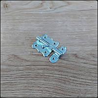 Шпингалет накладной Piomar 40 мм никель