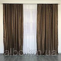 Комплект готовых штор Блэкаут в комнату хол спальню, шторы для зала спальни гостинной, шторы солнцезащитные в, фото 2