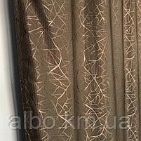 Комплект готовых штор Блэкаут в комнату хол спальню, шторы для зала спальни гостинной, шторы солнцезащитные в, фото 7