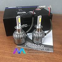 Светодиодные лед лампы для авто C6-H3 led лэд автомобильные лампочки на автолампы автомобильных фар в фары