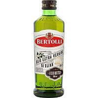 Оливкова олія Bertolli Robusto Olio Extra Vergine di Olio (першого холодного віджиму), 1л