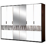 Шкаф 6Д Бася Новая Світ меблів, фото 3