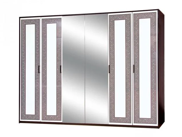 Шкаф 6Д Бася Новая Світ меблів