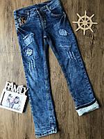 Теплые джинсы для мальчика 3 года.Турция!!