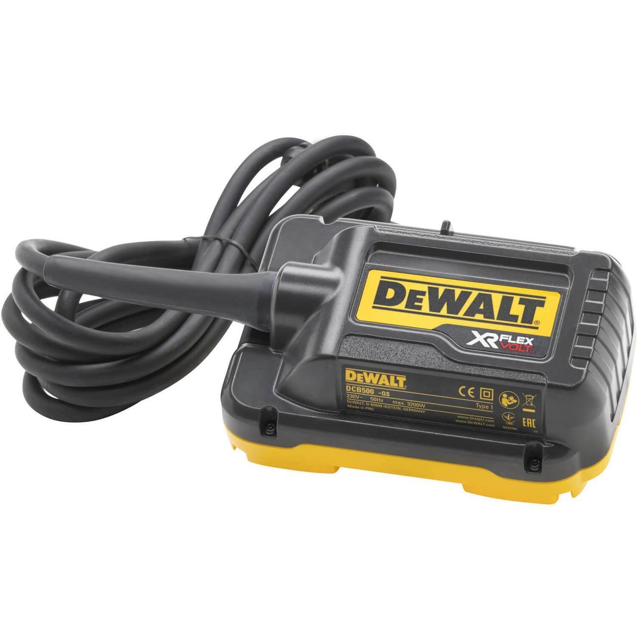 Мережевий адаптер для торцювальних пил DeWALT DCB500