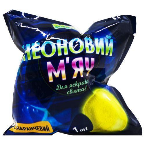 Неоновые мяч желтый PL119