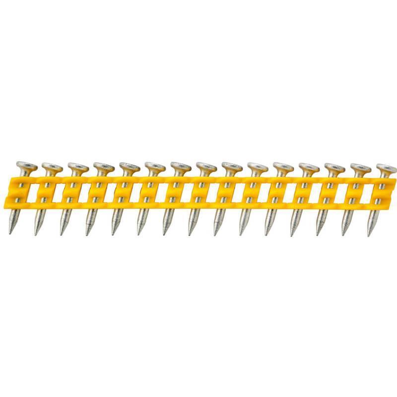 Гвозди по мягкому бетону для DCN890 длиной 15 мм диаметром 2.6 мм и диаметром головки 6.3 мм 1005 шт DeWALT