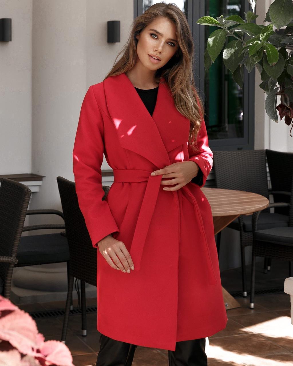 Женское пальто модное норма и батал