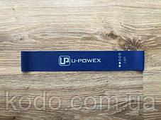 Поштучно СИНЯЯ фитнес резинка для фитнеса U-Powex. ОРИГИНАЛ  Хит США!, фото 3