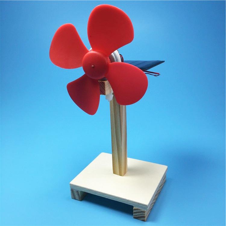 Вентилятор на солнечной батарее - набор для сборки, конструктор