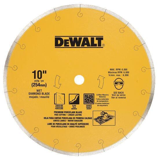 Диск алмазный отрезной DeWALT DT3734