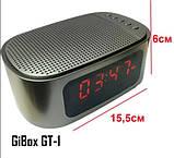 Портативная Bluetooth колонка Gibox GT-1 Серый, фото 4