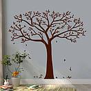 Наклейка на стіну Дерево для фоторамок, фото 3