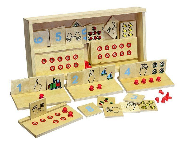 Настольная игра Учимся считать 40 деталей 15.30х8.20х0.90