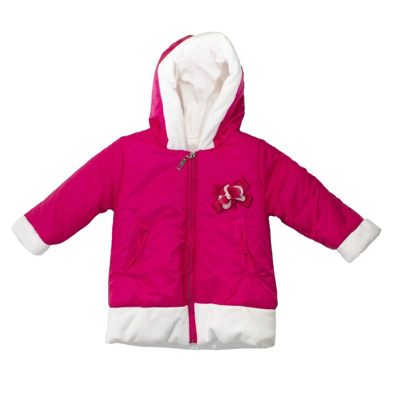 Демисезонная курточка для девочки, размеры 1, 2 года